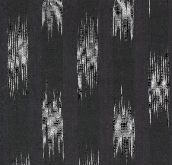 Moda Low Volume Wovens Charcoal Ikat by Jen Kingwell -- Fat Quarter