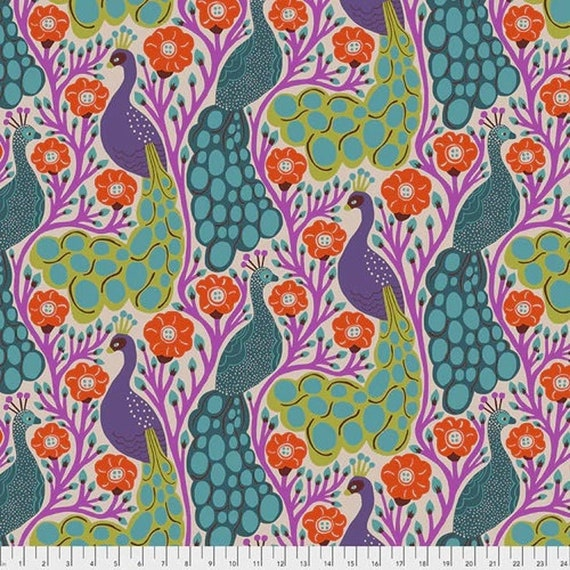 Homeward by Monkia Forsberg for Anna Maria Horner Conservatory with Free Spirit Fabrics - Fat Quarter Proud in Tropical