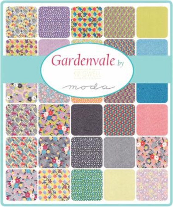 Gardenvale by Jen Kingwell for Moda - Fat Eighth Moda Precut Bundle