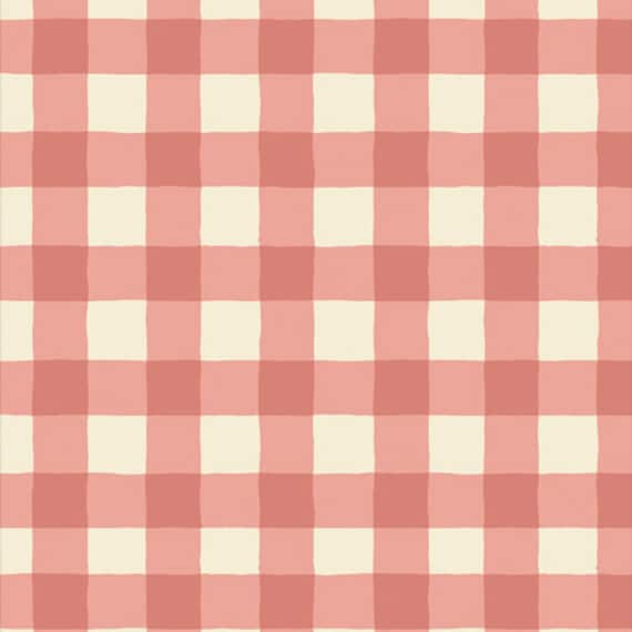 Art Gallery Plaid of My Dreams Blush in Flannel - Purchase in 25cm Increments