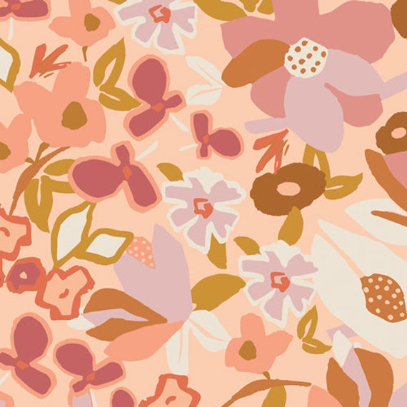 Terra Kotta by Art Gallery Studio-  Fat Quarter of Desert Flora