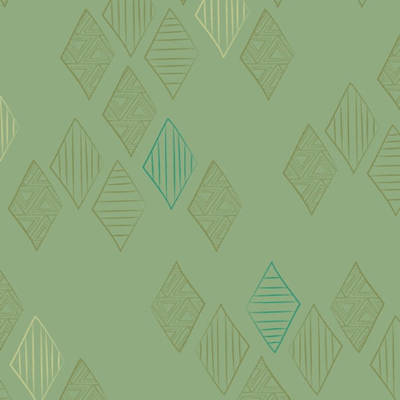 Matchmade by Pat Bravo for Art Gallery Fabrics - Quartz in Foliage
