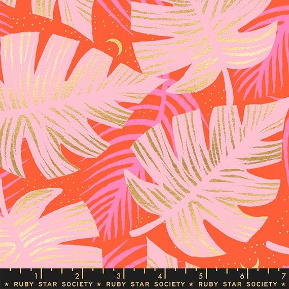 Florida Shade Palms in Grey RS2024 14M by Sarah Watts -Ruby Star Society - Fat Quarter