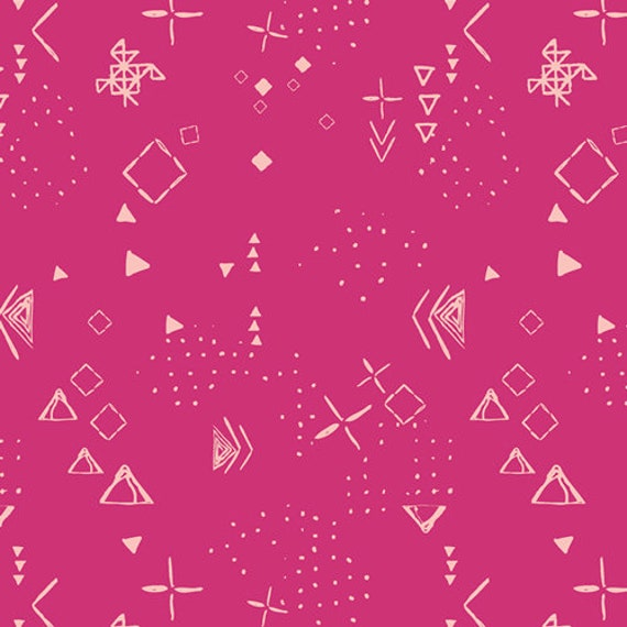 Matchmade by Pat Bravo for Art Gallery Fabrics - Thoughts in Berry