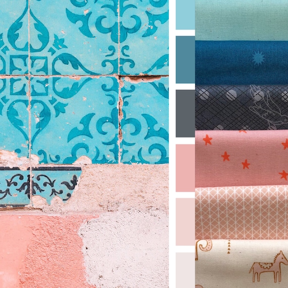 Design Seed Inspiration January 11th, 2019 -- 6 Fat Quarters