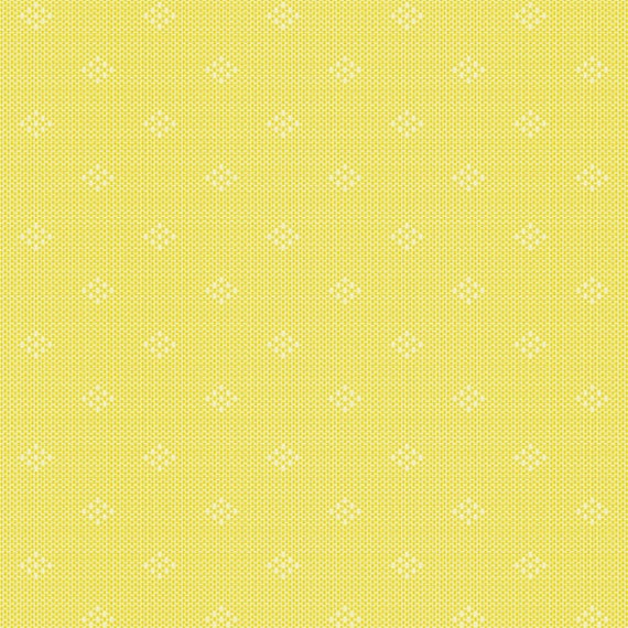 Entwine by Guicy Guice for Andover Fabrics - Fat Quarter of Intersect in Lemon