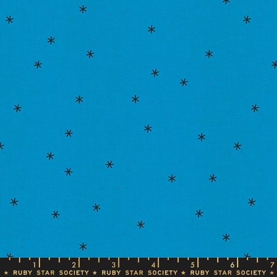 Social and Spark -- Spark in Bright Blue (RS000512) by Ruby Star Society for Moda -- Fat Quarter