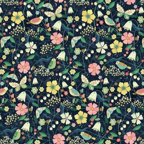 Hedgerow by Bee Brown for Dashwood Studio - Fat Quarter