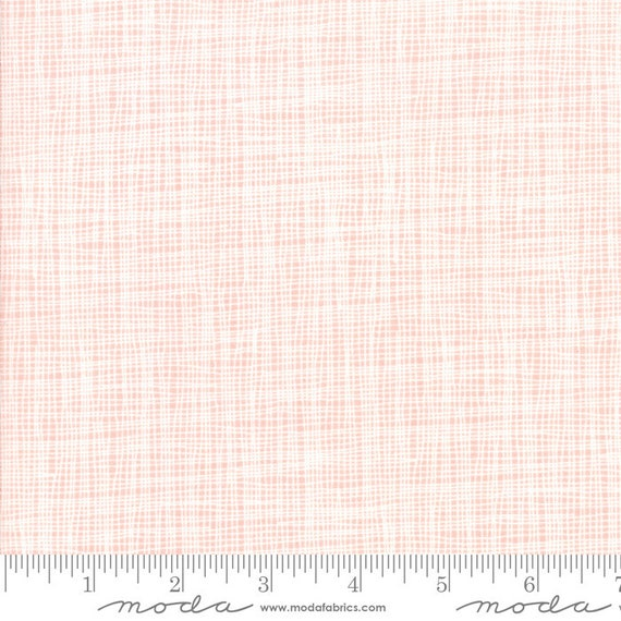 Day in Paris. -- Grid in Bubble Gum (1686 13) by Zen Chic for Moda -- Fat Quarter