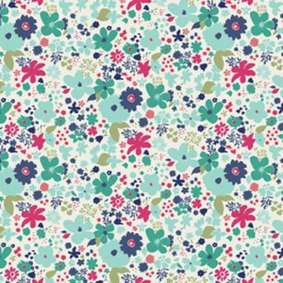 Abloom Fusion by Art Gallery Fabrics - Vintage Rush in Abloom