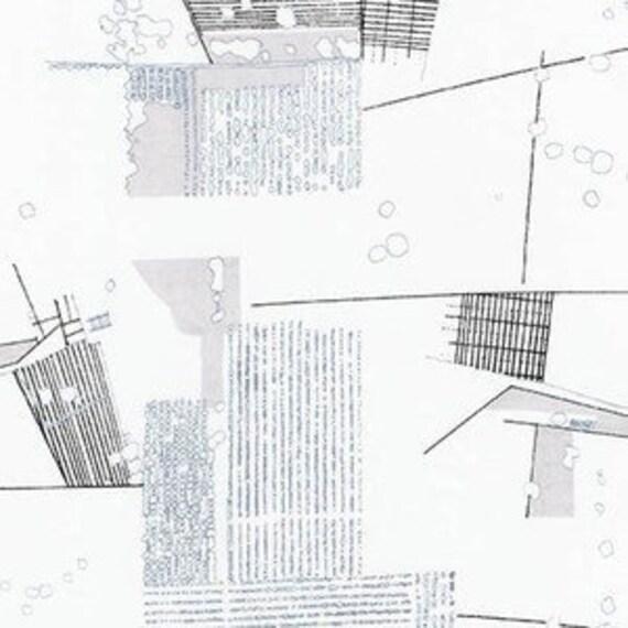 In Stock! Friedlander by Carolyn Friedlander - Fat Quarter- Aerial Lawn in Titanium