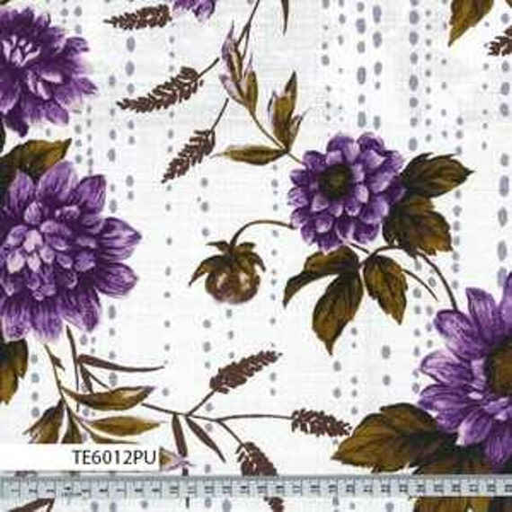 Outback Wife by Gertrude Made for Ella Blue -- 1/2 metre Bindi in Dahlia Purple