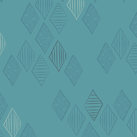 Matchmade by Pat Bravo for Art Gallery Fabrics - Quartz in Midnight