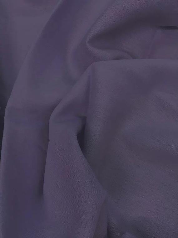 Rossini Linen in Aubergine - Purchase in 50cm Increments