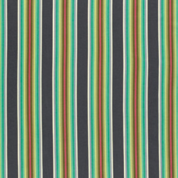Fat Quarter Tick Tock Stripe in Mint - Tula Pink Chipper