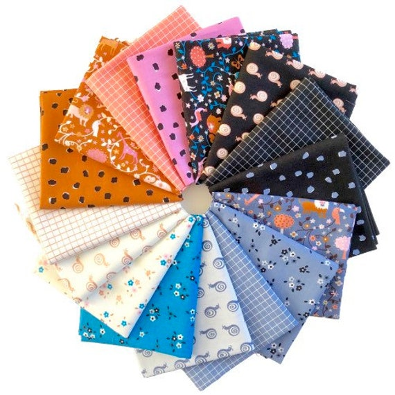 Liana and Grid Fat Quarter Bundle by Ruby Star Society