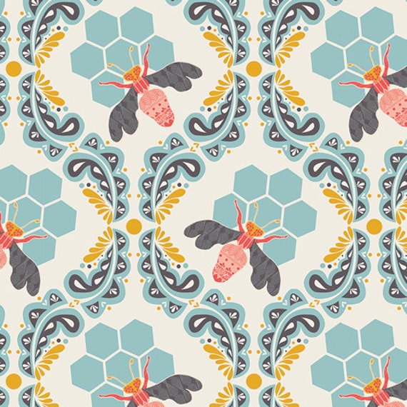 Bee Sweet Morning by Bonnie Christine for Art Gallery Fabrics  - Fat Quarter