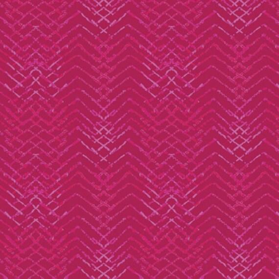 Aquarelle by Katarina Rocella for Art Gallery Fabrics - Tachisme in Magenta