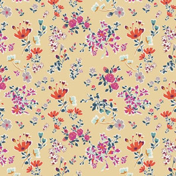 Boho Fusion by Art Gallery Fabrics - Cottagely Posy in Boho
