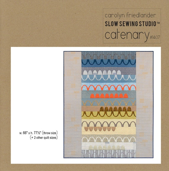 Catenary - Pattern by Carolyn Friedlander