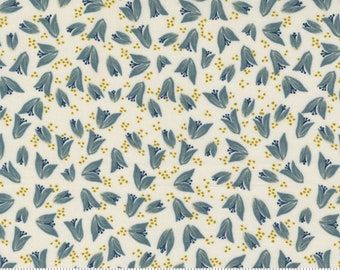 Songbook--  Bud Bloom in Dove (45525 11) by Fancy that Design House for Moda -- Fat Quarter