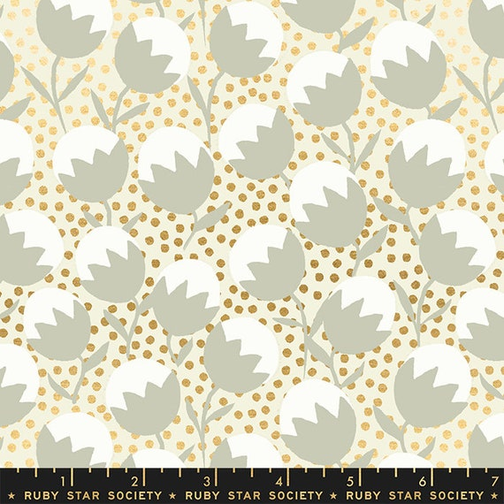 Purl by Sarah Watts -- Wanderlust in Shell (RS203411M) by Ruby Star Society for Moda -- Fat Quarter