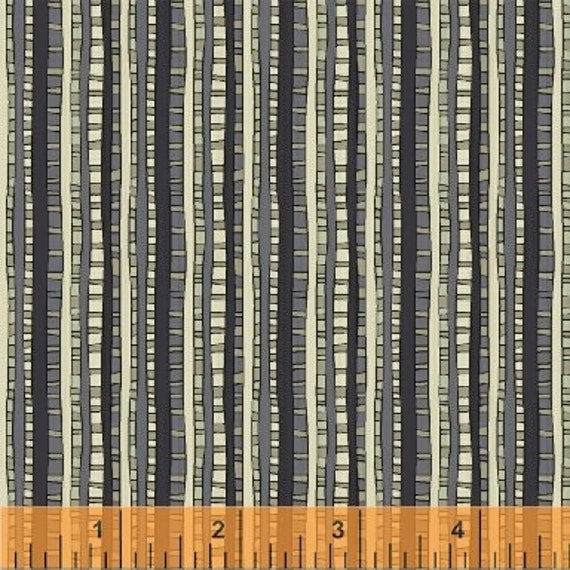 Fantasy by Sally Kelly for Windham Fabrics - Fat Quarter of 51293-2