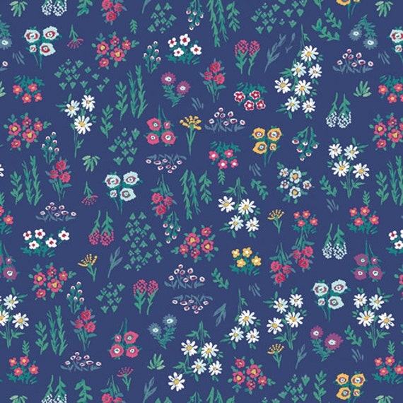 Aquarelle by Katarina Rocella for Art Gallery Fabrics - Floral Pigments in Wet