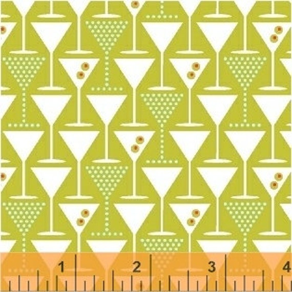 Martini by Another Point of View for Windham Fabrics - (42446-5) - Fat Quarter