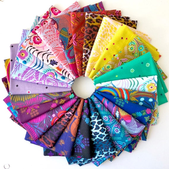 Tambourine Fat Quarter Bundle of Anna Maria Horner Fabrics -- 24 in total