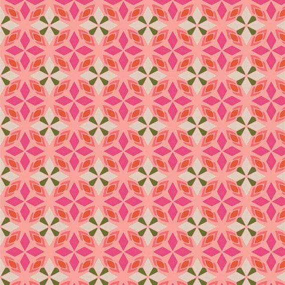 Open Heart by Maureen Cracknell for Art Gallery Studio-  Fat Quarter of Blooming Essence