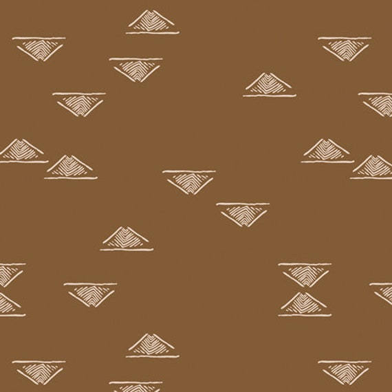 Homebody by Maureen Cracknell for Art Gallery Fabrics - Domestic Charm Walnut