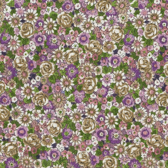 New Outback Wife by Gertrude Made for Ella Blue -- 1/2 metre Christine in Lavender