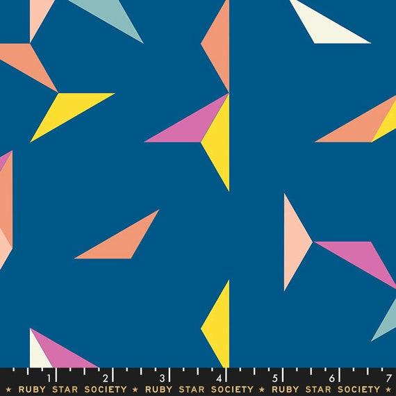 Darlings -- Ruby Star in Blue Raspberry (RS5015-15) by Ruby Star Society for Moda -- Fat Quarter