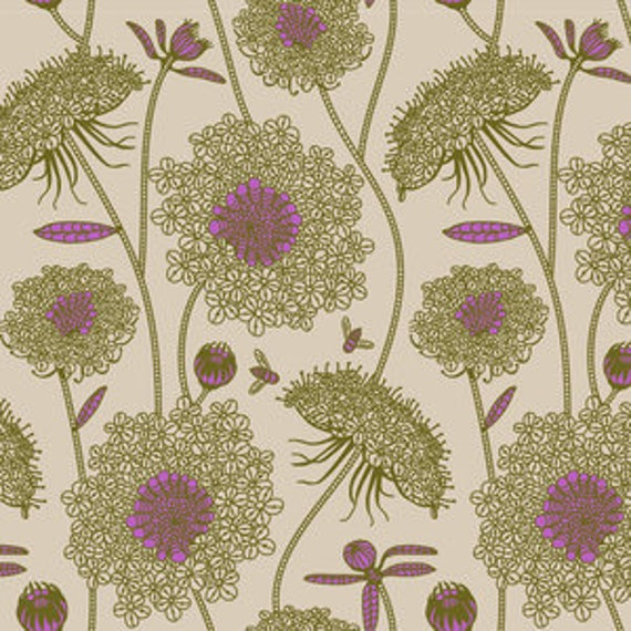 Sweet Dreams by Anna Horner for Free Spirit Fabrics - Lacey in Moss
