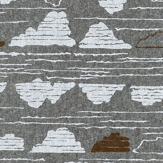 Driftless by Anna Graham for Robert Kaufman, 100% Cotton Linen Canvas -- 25cm -- AFH 190-152