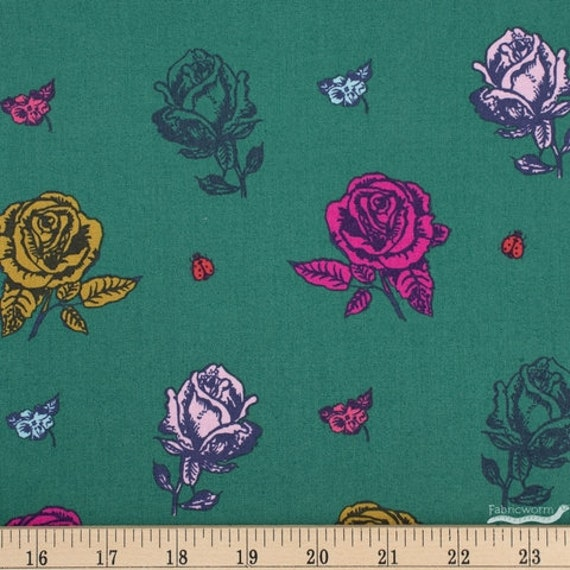 Sunday in the Country by Nathalie Lete for Anna Maria Horner Conservatory 4 - Fat Quarter of Picking Roses Sophie