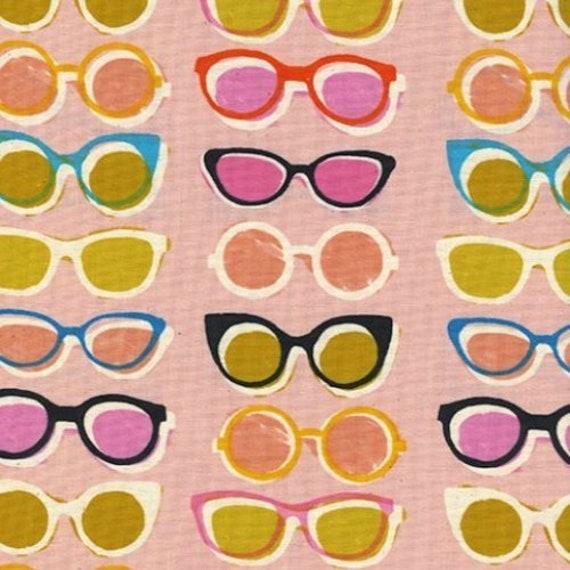 Poolside -  Shades in Pink by Melody Miller for Cotton and Steel