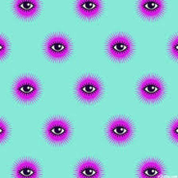Fat Quarter I See You in Spirit  - Tula Pink's De La Luna Fabric for Free Spirit Fabrics
