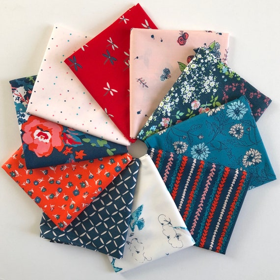 Everlasting Fat Quarter Bundle by Sharon Holland for Art Gallery Fabrics - 10 in Total