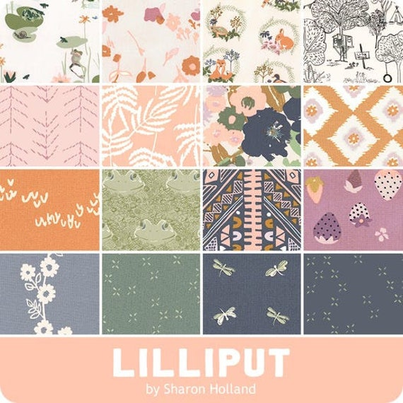 Lilliput by Sharon Holland for Art Gallery Studio-  Fat Quarter Bundle of All 16 Prints