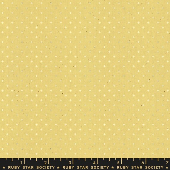 Add It Up and Alma by Alexia Marcelle Abegg -- Ruby Star Society Fabric, RS4005-29 Fat Quarter of Add It Up Soft Yellow