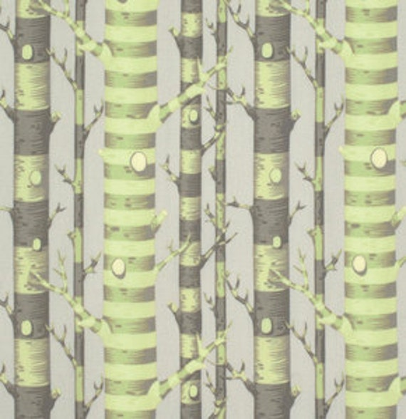 Fat Quarter Forest Stripe in Sprout - Tula Pink Bumble