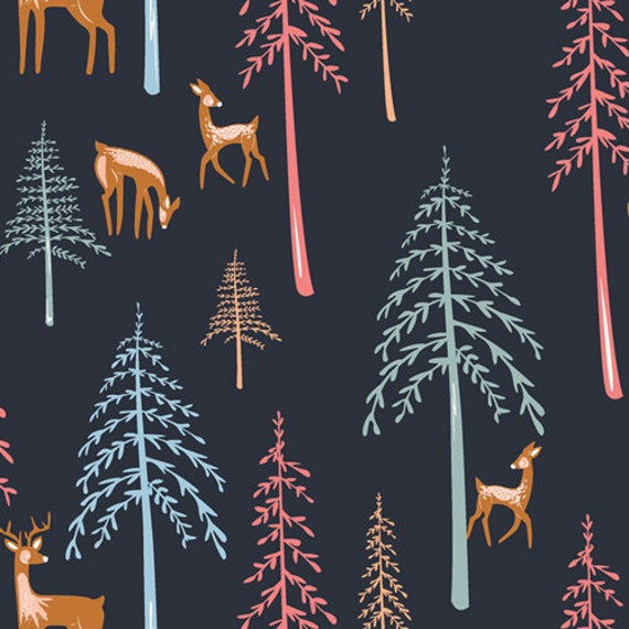 Little Forester Fusion by Art Gallery Fabrics - Among the Pines