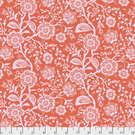 Fat Quarter Delight in Cotton Candy  - Tula Pink's Pinkerville for Free Spirit Fabrics