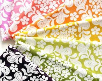 Strawberry Moon by Sandi Henderson for Michael Miller - Petite Henna Garden - Fat Quarter Bundle of 8