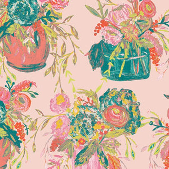 Wild Bloom by Bari J. Ackerman for Art Gallery Fabrics - Still Life in Sweet - Fat Quarter