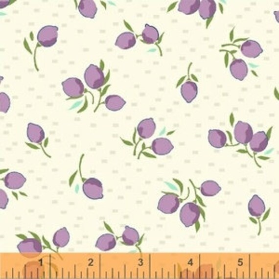 Hello Jane by Allison Harris for Windham Fabrics - Blossom in Lilac - Fat Quarter