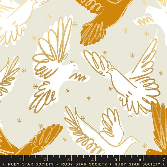 Rise Fly in Shell RS0013 11M by Melody Miller - Ruby Star Society - Fat Quarter