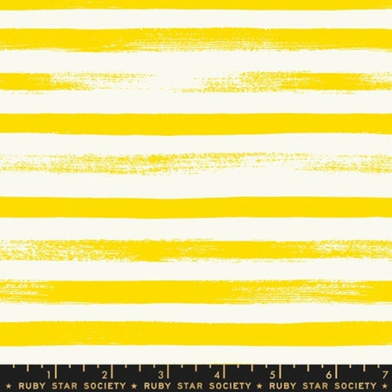 Pop and Zip. -- Zip in Lemon Yellow (RS100525) by Ruby Star Society for Moda -- Fat Quarter